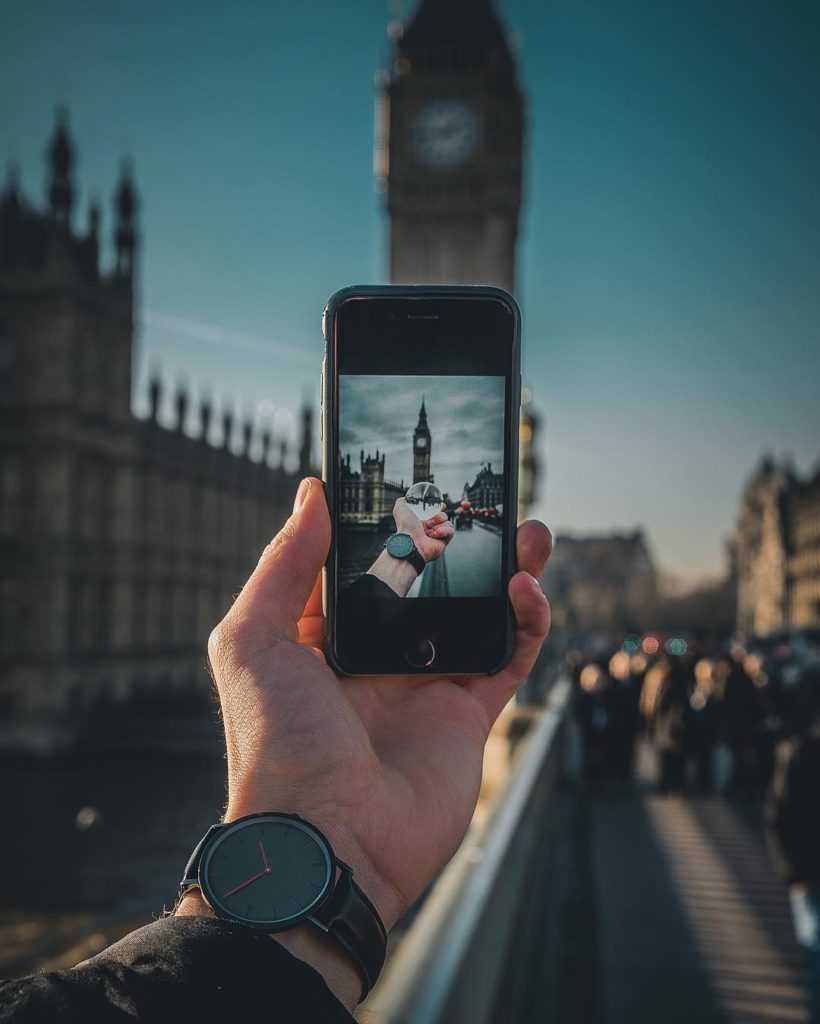 Image of Big Ben in London England by m.visuals camera